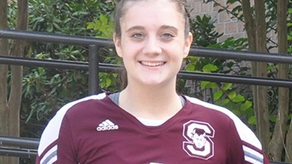Swain County volleyball player Lydia Sale