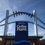 Cedar Point's main entrance.