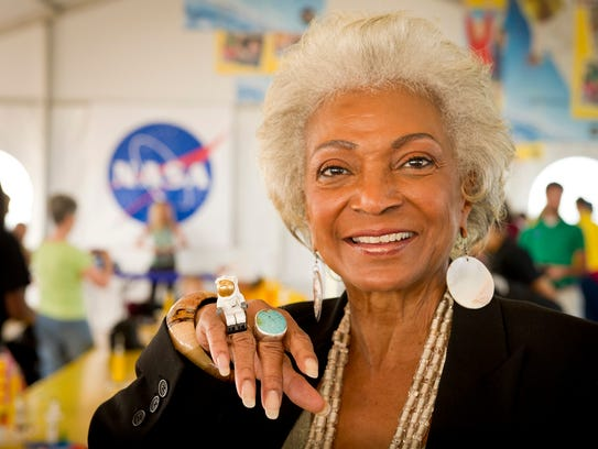 "Nichelle Nichols of ""Star Trek"" fame will be in Montgomery"