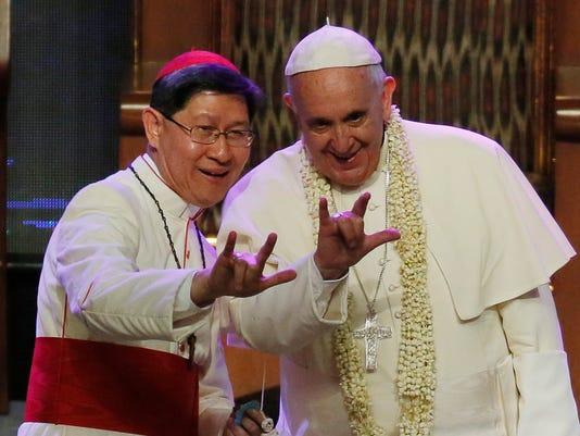 Pope Francis Luis Antonio Tagle