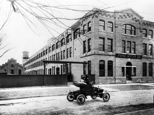 Ford Motor Co.'s Piquette Plant in 1904