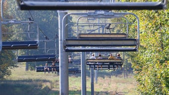 Every year, Granite Peak Ski Area at Rib Mountain State Park holds fall chairlift rides, where people can ride the mountain's ski lift to see the trees' changing colors. Our photographer T'xer Zhon Kha went with his family and captured this video.