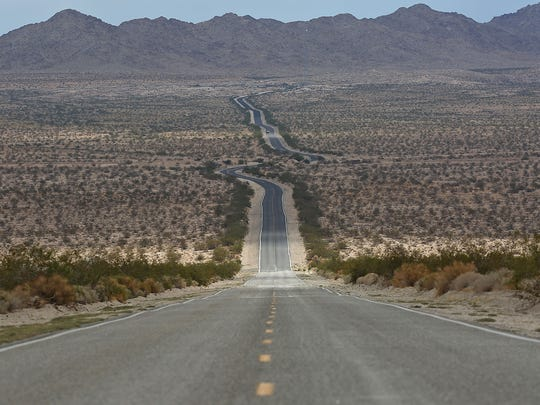 Highway 62 cuts through the Mojave Desert and links to an alternate route linking the valley and Las Vegas.