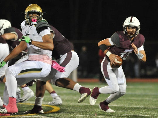 Don Bosco's Tommy DeVito used all of his skills at quarterback to lead the Ironmen in 2016. Today he plays in the Under Armour All-America Game for elite high school football players.