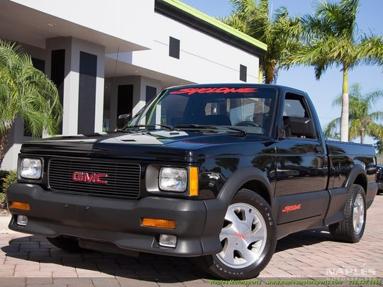 The GMC Syclone was fast. Car and Driver found it to be faster than a Ferrari 348ts.