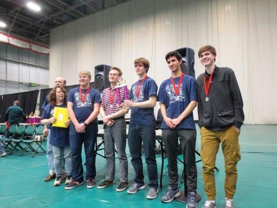 Binghamton High School's Odyssey of Mind Team places
