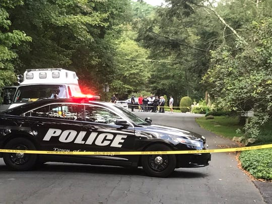 Police are investigating an incident at a home in Pound Ridge, August 25, 2017
