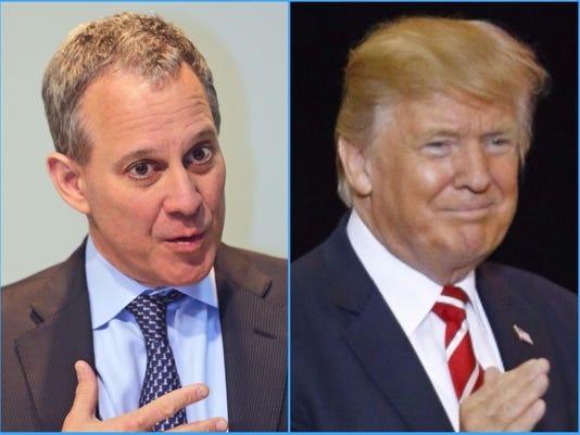 Schneiderman Trump