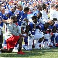 Jim Kelly on LeSean McCoy: '100 percent disagree' with his national anthem protest