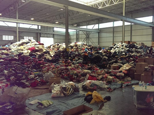 Donations for the victims of Hurricane Harvey
