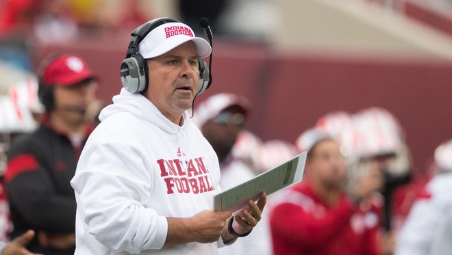Kevin Wilson, Head Coach of Indiana football.