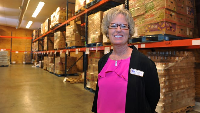 Kara Nickens is the new CEO of the Wichita Falls Area Food Bank.