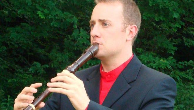 Jeffrey Wahl will perform a Baroque recorder concert in Binghamton.