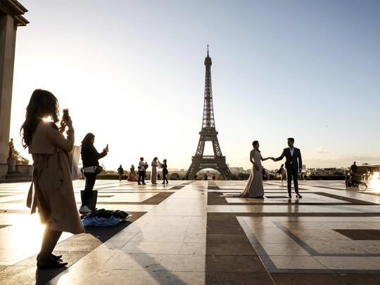 France is the No. 1 destination in terms of international
