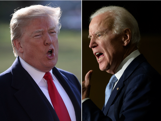 Una campaña entreBideny Trump tendría el interés añadido de la tensa relación que existe entre ambos