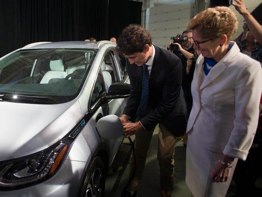 Justin Trudeau, Kathleen Wynne