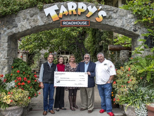 Tarpy's Roadhouse raised funds for Special Kids Crusade.