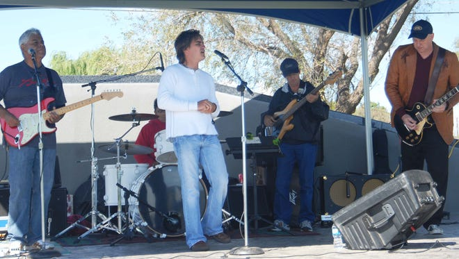 The Bisket Heads will open the Summer Outdoor Concert Series Tuesday.