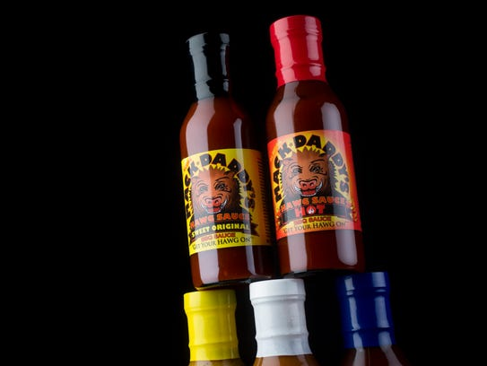 Mack Daddy's Sweet Original and Hot BBQ Sauce is made
