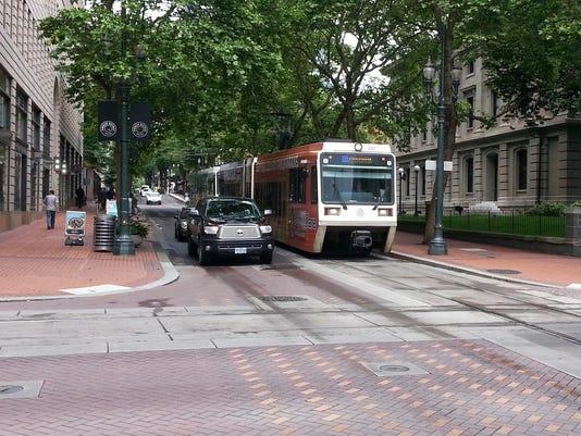Street Car in Portland