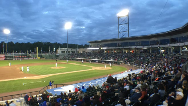 The Rockland Boulders at Provident Bank Park.