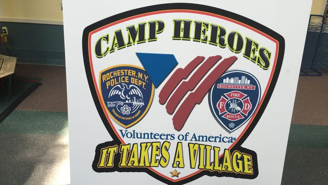 A week-long summer camp created by Volunteers of America, the Rochester Police Department and Rochester Fire Department that will be free for 44 children in Rochester.
