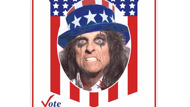 Alice Cooper campain poster