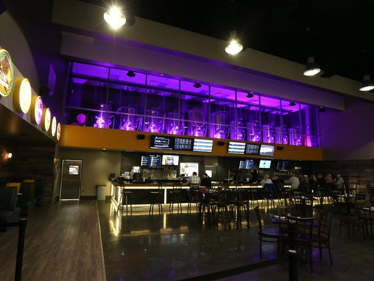 Flix Brewhouse at Merle Hay Mall in Des Moines.