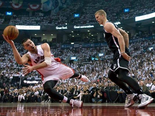 Nets Raptors Basketball (2)