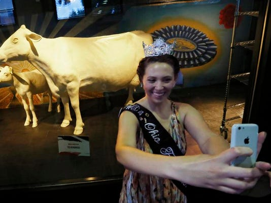 Ohio Butter Cow