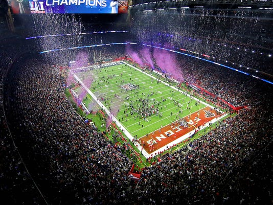 USP NFL: SUPER BOWL LI-NEW ENGLAND PATRIOTS VS ATL S FBN USA TX