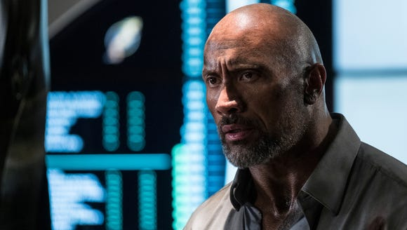 Security specialist Will Sawyer (Dwayne Johnson) is