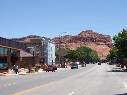 Kanab is shown in this file photo. Former Kane County
