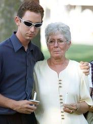 In this July 17, 2003, photo, Elizabeth Syperda's mother