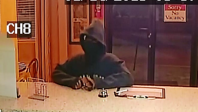 The Alexandria Police Department is asking for help in identifying a man suspected of robbing as many as four businesses in the past week, according to a release.