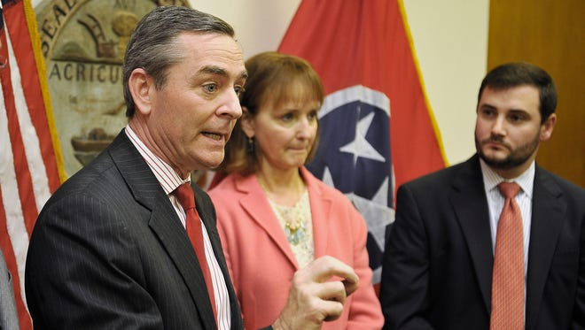 Tennessee Republican leaders House GOP Caucus Chairman Glen Casada, R-Franklin; House Speaker Beth Harwell; and Ryan Haynes, Tennessee Republican Party Chairman, called for Rep. Jeremy Durham, R-Franklin, to resign his seat in the legislature on Monday.