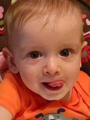 Logan Habibovic, 9 months.
