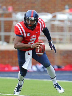 DeVante Kincade, who transferred from Ole Miss to Grambling in January, said he wants to break records for the Tigers.