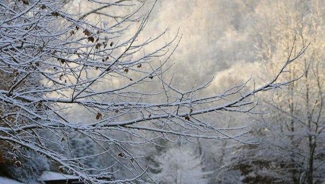Snow in Nashville