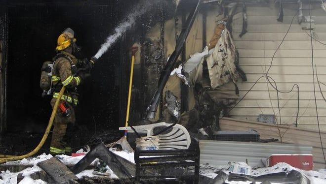 House fire on Morningside Street