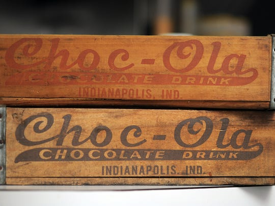 Rock-Cola Cafe at 5730 Brookville Road has resurrected the vintage drink Choc-Ola. Southside businessmen Joe Wolfla and Dan Iaria brought the drink that was sold in the mid-west from the 50's-70's back to their nostalgic cafe on the southeast side of Indianapolis. Matt Kryger / The Star
