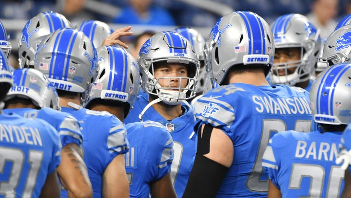 The Detroit News ranks the top 25 Lions in value for 2018