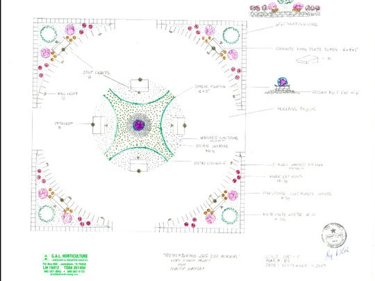 Here are the plans for the memorial that will soon