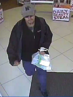 Jackson police are seeking public help in identifying this person of interest in thefts from Ulta.