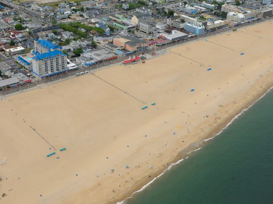 Arial images of Ocean City on June 15, 2016.