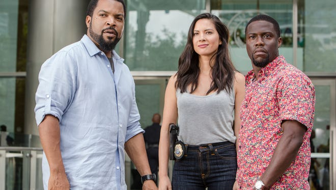 "Ice Cube, Olivia Munn and Kevin Hart star in ""Ride Along 2."""