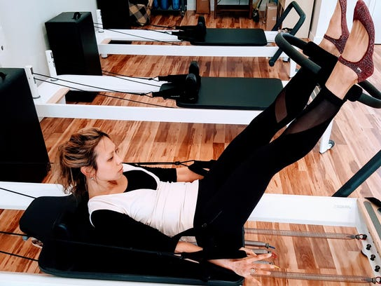 Reformer exercises can be done laying down