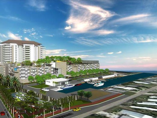 Bay Harbour Marina Village proposes a 14-story tower