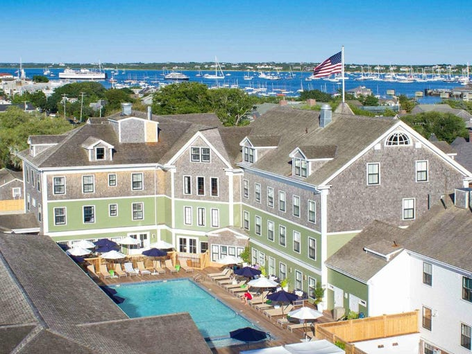 The Nantucket Hotel & Resort is bookable on TripAdvisor