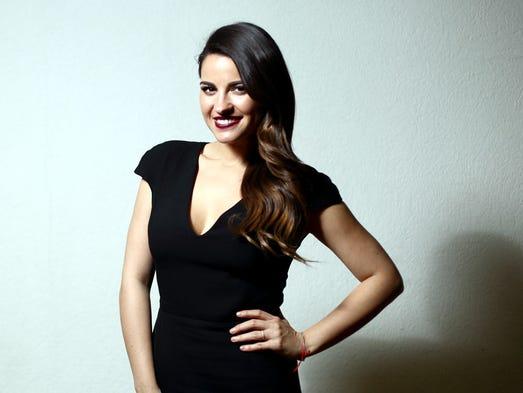 Maite Perroni nació un 9 de marzo en la Ciudad de México.